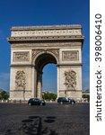 paris  france   june 12  2015 ... | Shutterstock . vector #398006410