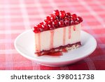 Delicious Cake With Berries An...