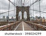 Famous Brooklyn Bridge In New...