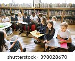 education school student... | Shutterstock . vector #398028670