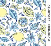 awesome vector seamless pattern ... | Shutterstock .eps vector #398038450
