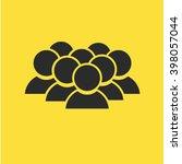 team icon  | Shutterstock .eps vector #398057044