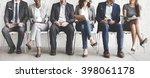 business people meeting... | Shutterstock . vector #398061178