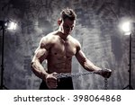 the perfect male body   awesome ... | Shutterstock . vector #398064868