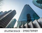 modern office skyscraper ... | Shutterstock . vector #398078989