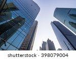 modern office skyscraper ... | Shutterstock . vector #398079004