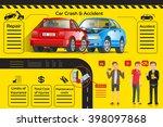 info graphic car insurance....   Shutterstock .eps vector #398097868