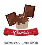 chocolate vector design