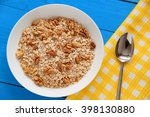Dry Oatmeal Flakes With Walnuts ...