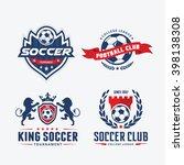 football badge logo template.  | Shutterstock .eps vector #398138308