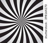 swirling radial pattern... | Shutterstock .eps vector #398164270