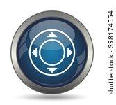 Joystick Icon. Internet Button...