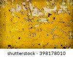 old metal surface. | Shutterstock . vector #398178010