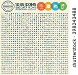 1085 big data business database ...   Shutterstock .eps vector #398243488