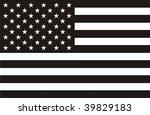 american flag | Shutterstock . vector #39829183