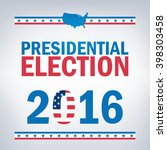 united states presidential... | Shutterstock .eps vector #398303458