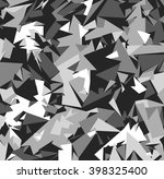 abstract vector grey military... | Shutterstock .eps vector #398325400