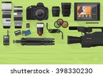 video making  photography and... | Shutterstock .eps vector #398330230
