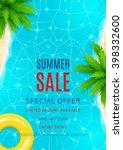 Summer Sale Flyer. Beautiful...