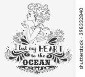 typography vintage poster. i... | Shutterstock .eps vector #398332840