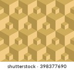 vector illustration seamless... | Shutterstock .eps vector #398377690