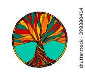 vector ornament  decorative... | Shutterstock .eps vector #398380414