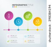 business infographic time line... | Shutterstock .eps vector #398384194