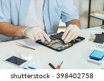 tablet repair | Shutterstock . vector #398402758