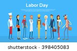 people group different... | Shutterstock .eps vector #398405083