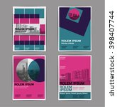 layout design   template ... | Shutterstock .eps vector #398407744