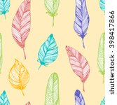 seamless vector pattern with... | Shutterstock .eps vector #398417866