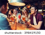 people  leisure  friendship and ... | Shutterstock . vector #398419150