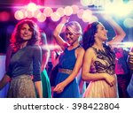 party  holidays  celebration ... | Shutterstock . vector #398422804