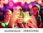 party  holidays  celebration ... | Shutterstock . vector #398422960