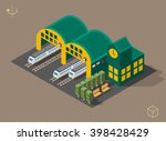 set of isolated isometric...   Shutterstock .eps vector #398428429
