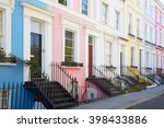 Colorful English Houses Facades ...