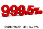 nine hundred and ninety nine... | Shutterstock . vector #398469496