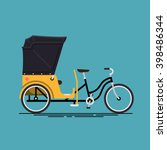 lovely vector illustration on... | Shutterstock .eps vector #398486344