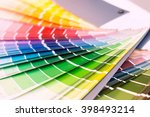 color wheel for choosing paint... | Shutterstock . vector #398493214