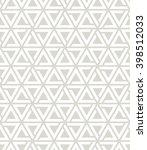 seamless geometric pattern.... | Shutterstock .eps vector #398512033