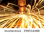 industrial welding automotive... | Shutterstock . vector #398516488