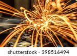 industrial welding automotive... | Shutterstock . vector #398516494