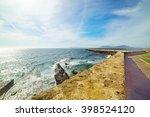 Wall By The Sea In Alghero...
