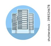 data center vector illustration....