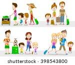 cartoon illustration of... | Shutterstock .eps vector #398543800