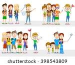 cartoon illustration of... | Shutterstock .eps vector #398543809