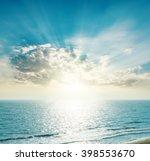 Rising Sun On The Horizon  Blu...