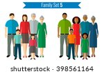 family icons set. traditional... | Shutterstock .eps vector #398561164