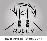 logo rugby. gates  abstract...