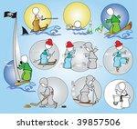 sport_hobby_rest_winter_summer | Shutterstock .eps vector #39857506